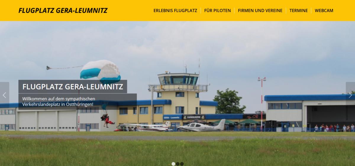 Flugplatz Gera